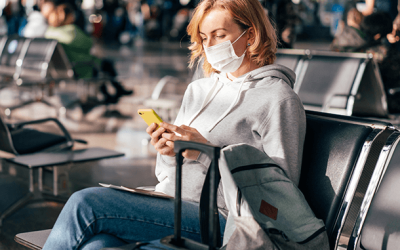 COVID-19 Case Rates, CDC Guidance, and Travel